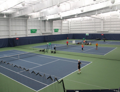 Osten and Victor Tennis Centre-Calgary Canada's New State of the Art Facility